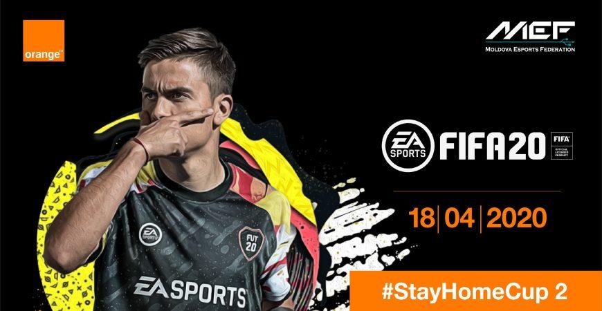 Stay Home Cup FIFA20 (2) – Stai Acasă și Participă