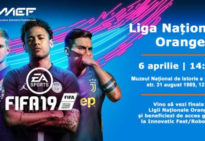 Vino să vezi finala Ligii Naționale Orange la FIFA19