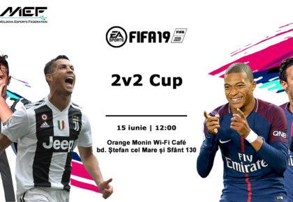 Înscrie-ți echipa la FIFA19 2v2 Cup de pe 15 iunie