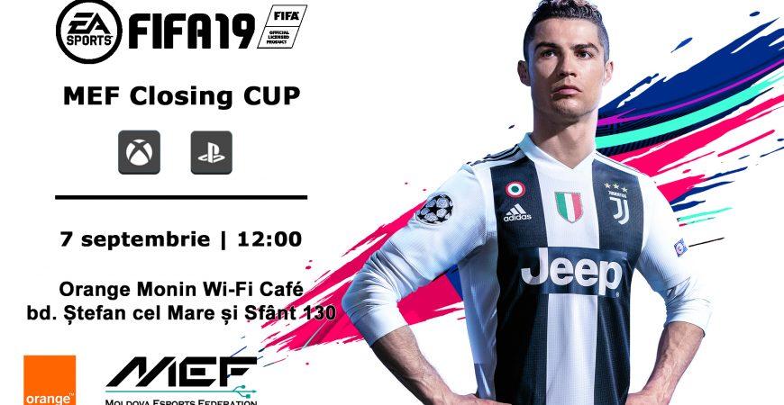 Înscrie-te la FIFA19 Moldova Closing Cup de pe 7 septembrie