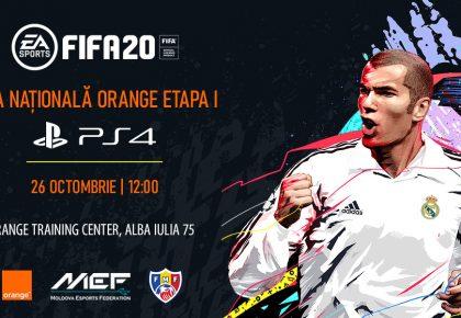 Participă la prima etapă a Ligii Naționale Orange la FIFA20
