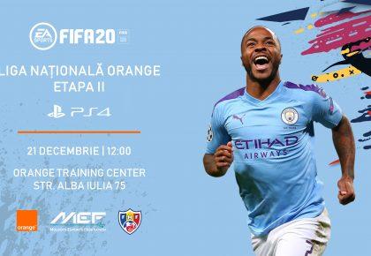 Înscrie-te la a doua etapă a Ligii Naționale Orange la FIFA20