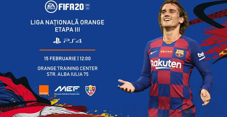 Înregistrează-te la a treia etapă a Ligii Naționale Orange la FIFA20